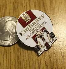 Formula1 Embassy Racing with Graham Hill Cloisonne Pin