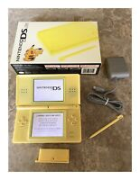 Nintendo DS Lite Pokémon Edition Yellow Handheld System in Box!
