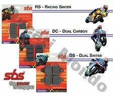 SBS Carbon Tech rear brake pads for Ducati 899 Panigale 13-15 730RQ Race Racing
