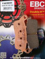 EBC/FA636HH Sintered Brake Pads (Rear) - Honda VFR1200 Crosstourer, VFR800X '15