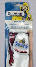 Captain Quackenbush Seafood Plastic Bib Lobster Set of 4 Heuck New Package Party