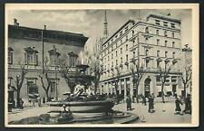 Milano : Piazza Fontana -  cartolina non viaggiata anni '30