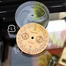 FORMIDA [Swiss] Vintage Chronograph Watch Dial Part Only LANDERON 48/148/248 Fam