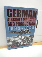 German Aircraft Indurstry Productionb1933-1945 WWII Blitkreig Vajda Dancey Plane