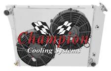 "2 Row 1"" Ace Radiator 20"",10"" Fans,Shroud for 1968 - 1974 Chevy Chevy II Nova"