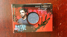 Max Thieriot as Dylan Masse Autograph Costume Card Bates Motel Season 2 Breygent