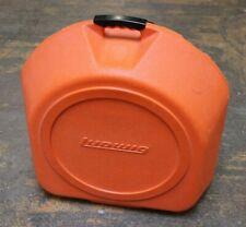 Vintage Ludwig Clamshell Snare Drum Case Orange