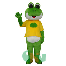 Frog Prince Mascot Costume Suit Fancy Dress Adult Cosplay Halloween Party Outfit