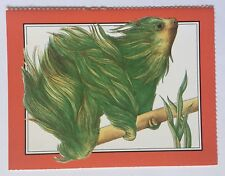"Postcard - Two-Toed Sloth by Ruth Heller from ""How to Hide a Polar Bear.�"