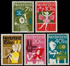 ✔️ NETHERLANDS 1964 - CHILD WELLFARE KINDERZEGELS - NVPH 830/834 ** MNH OG