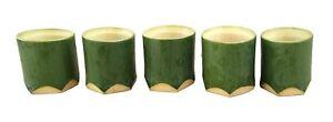 Bamboo small cup 5pieces sake cup Japanese SAKE Natural materials made in japan
