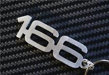 para Alfa romeo 166 Schlüsselring llavero llavero V6 GTV GT GTA JTD doble bujía