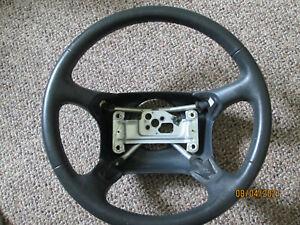 1995-1997 Chevy Silverado - Suburban Gray Leather Steering Wheel OEM