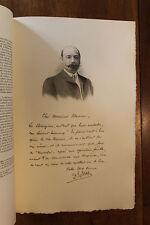 Docteur Ed. Adler Figures Contemporaines Mariani Biographie 1904 1/150 ex.