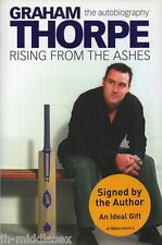 Graham Thorpe Autograph - Rising From The Ashes - Hardback Book Signed - AFTAL