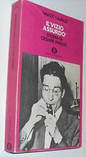 (e)   lajolo IL VIZIO ASSURDO storia di cesare pavese   II edizione  1972 OSCAR