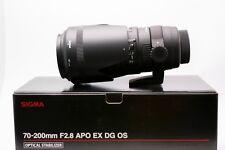 Sigma 70-200mm f2.8 EX DG OS HSM AF Lens for Nikon DSLRs  NEW