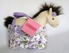 Gymboree Cowgirls at Heart Horse Pony Purse Tote Bag Stuffed Plush New