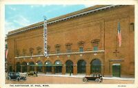 Auditorium St. Paul Minneapolis Minnesota MN Postcard