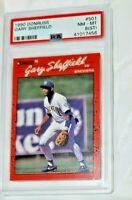 1990 Donruss Gary Sheffield #501 Rookie All Star RC Baseball Card PSA 8 LOW POP