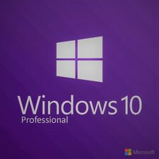Windows 10 Pro Professional Key Code Microsoft MS Ultra Fast Delivery 32&64 Bit