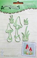 Lea'bilities Design Die Cutter - Mushrooms - 2274