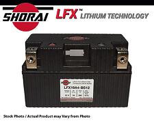 Shorai LFX Lithium Iron Technology Battery Yamaha FZ09 Motorcycle