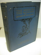 THE WIND IN THE WILLOWS by Kenneth Grahame 1923 Scribners Nancy Barnhart HC VG-