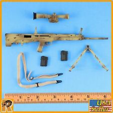 Desert Wolf PLA - QBU88 Sniper Rifle #2 - 1/6 Scale - Flagset Action Figures