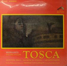 """HERBERT VON KARAJAN - TOSCA 12""""  LP  (O912)"""