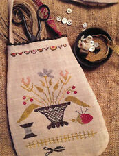 Simple Pleasures Sewing Pouch Stacy Nash Primitives Cross Stitch Pattern