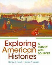 Exploring American Histories, Volume 1 HEWITT LAWSON SIGNED 2ND ED 2017