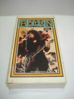 MARC BOLAN ON VIDEO VHS VIDEO TAPE PAL FREE POSTAGE