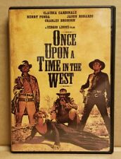 Once Upon A Time In The West Dvd Featuring Henry Fonda, Charles Bronson & More