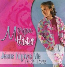 """MORGAN EASTER, CD """"JESUS KNOWS ME (THIS I LOVE) NEW SEALED"""