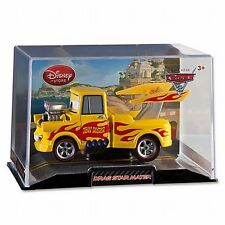 Disney Store Cars 2 Die Cast Collector Case Drag Star Mater 1:43 Scale NEW