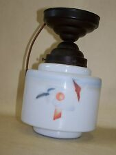 Beautiful old Kitchen Lamp, Art Deco Ceiling 1930s 1940's Years Lamp Spraying