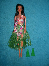 VINTAGE 1975 Hawaiian Barbie Doll Twist 'n Turn Hula Swim Suit  FABULOS VHTF