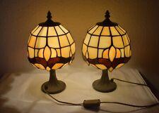 2 Tiffany Stil Tisch Lampen