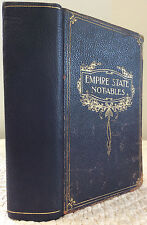 EMPIRE STATE NOTABLES 1914- Hartwell Stafford,1914,1st ed., New York, Famous Men