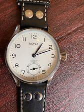 Swiss Pre Eta Unitas 6498 Incabloc 17 Jewel 44mm Wristwatch Clean Running
