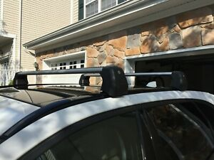 Genuine Jaguar F-Pace Roof Cross Bars T4A13875