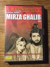 Sohrab Modi's Mirza Ghalib DVD Hindi India Masterpiece DVD Bharat Bhushan Suraiy