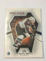 2001-02 Upper Deck MVP Talent #MT2 Joe Sakic Colorado Avalanche Hockey Card
