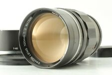 【 EXC++++ w/ HOOD 】 Canon 100mm f/2 Lens L39 Leica Screw Mount LTM from JAPAN