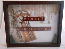 "Scrabble Tiles Sign ""Winter Wonderland"", Holiday Decor, Seasonal, Winter"