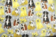 Dog Blanket Labs English Bulldogs Basset Hounds Can Personalize 28x44
