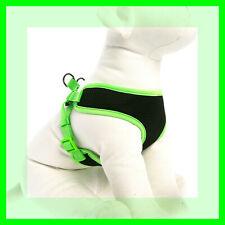 Top Paw Neon Green Trim Black Mesh Comfort Dog Harness XS