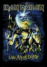 Iron Maiden Live After Death Large Textile Flag 1100mm x 750mm (hr)