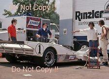 David Hobbs Carl Haas Lola-Chevrolet T31 Road Atlanta Can Am 1972 Photograph